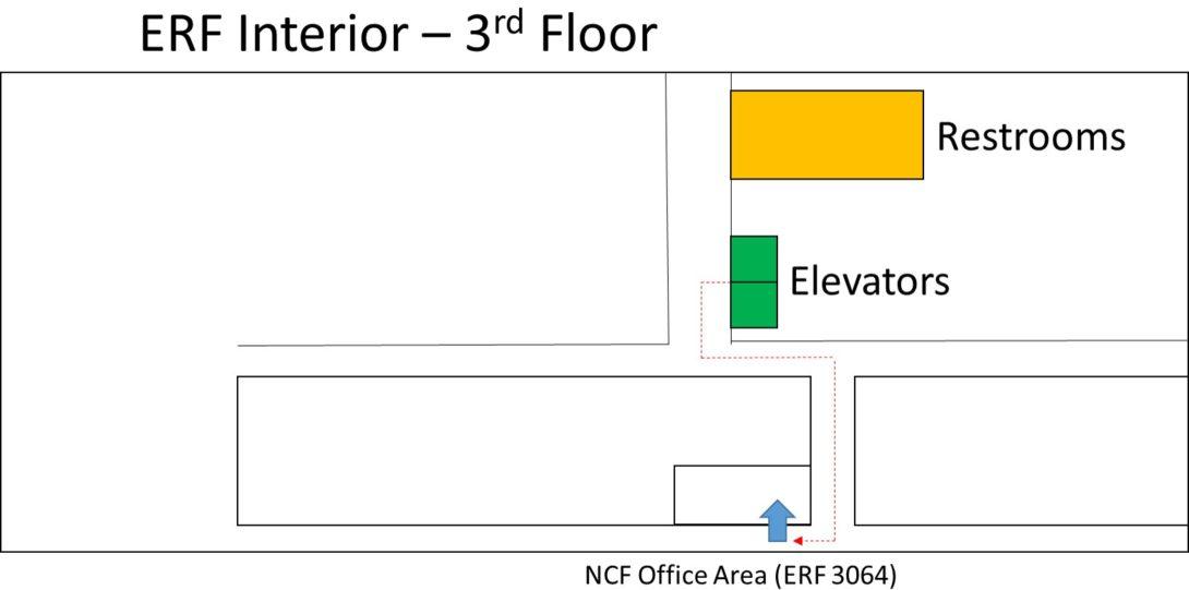 ERF Interior Third Floor