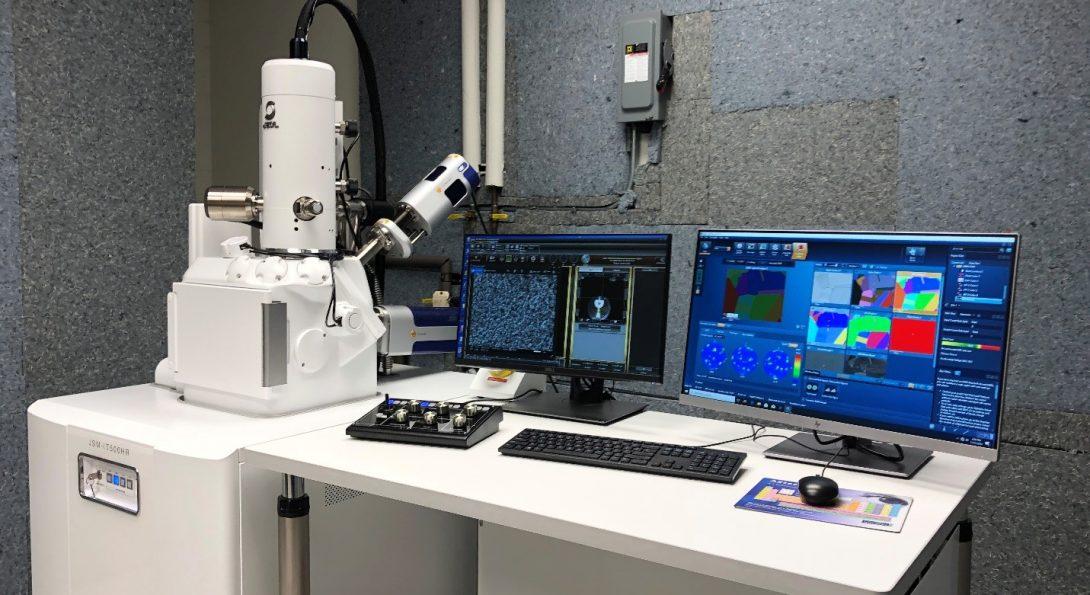 JEOL JSM-IT500HR Field Emission Scanning Electron Microscope